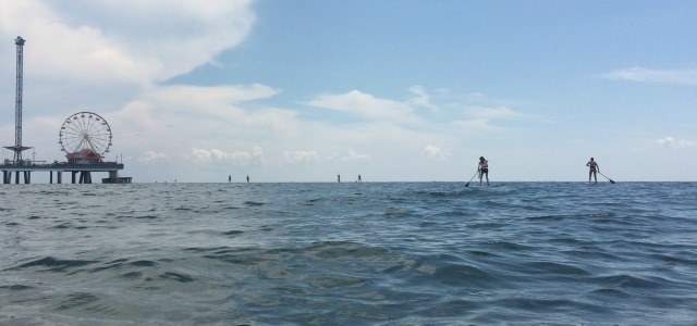 Stand Up Paddle Board Rentals Galveston TX