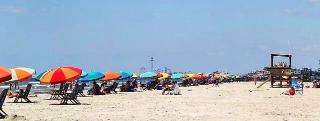 Galveston Island Stewart Beach