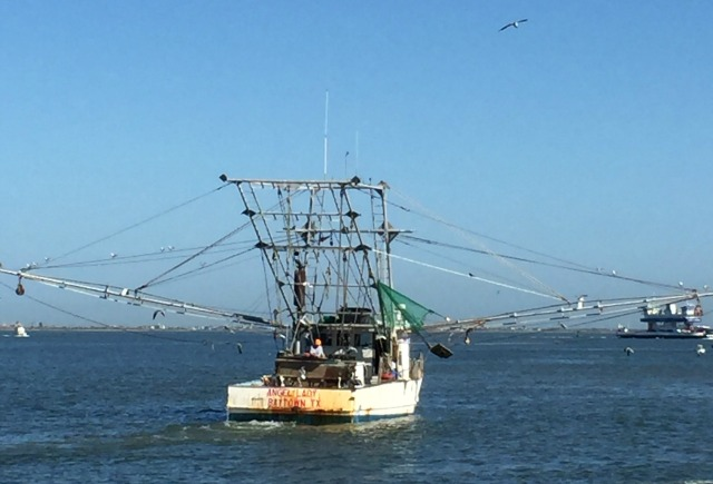 Shrimp Boat Galveston Island