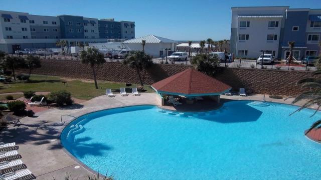 Condo Overlooks The Resort Pool