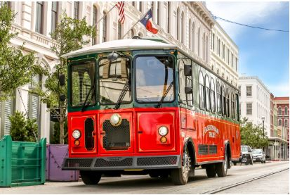 Galveston Island Trolley Bus