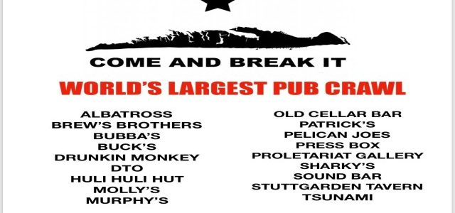 Galveston Island, TX World Record Pub Crawl