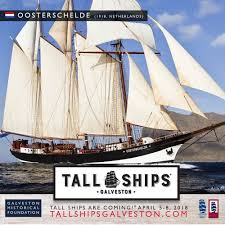 Tall Ships® Coming To Galveston Island, TX April 5 – 8