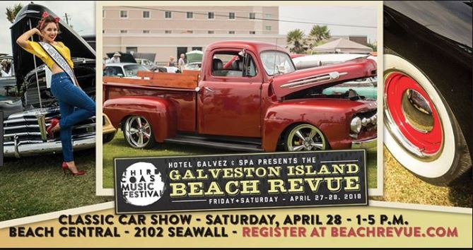 Galveston Island Hot Rod & Classic Car Show