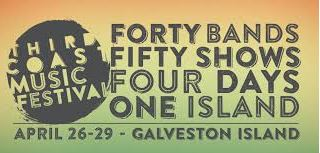 What To Do Galveston Island Third Coast Music Festival April 26 – 29