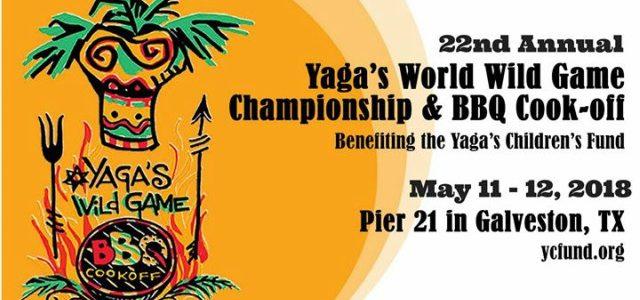 Galveston Island Yaga's Wild Game Cook Off May 11 & 12