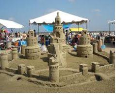 Galveston Island Free Sandcastle Building Lessons