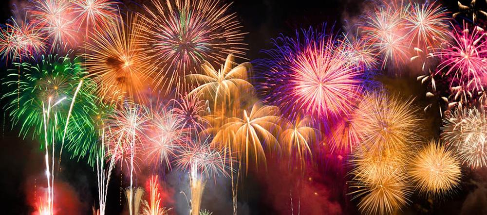 Galveston Island July 4th Fireworks
