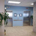 Two Interior Elevators By The Sea Condominiums